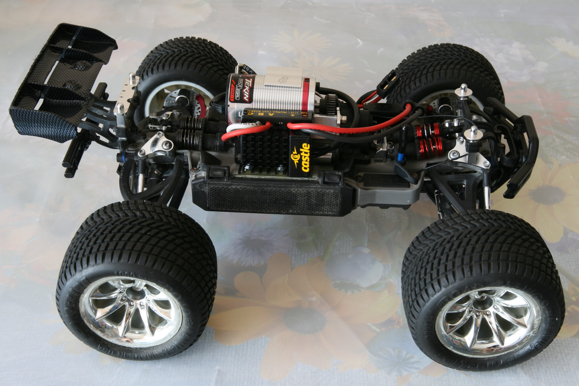 Thread Tekin rs pro esc with stock brushless motor
