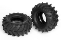 Traxxas 1870 Sledgehammer hard traction 2.2 inch tires. Another name of this - Terra Spiked.