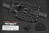 Integy Carbon fiber chassis conversion for 1/16 Traxxas E-Revo.
