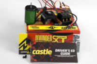 Castle Sidewinder 3 SCT combo with 3800kv motor.